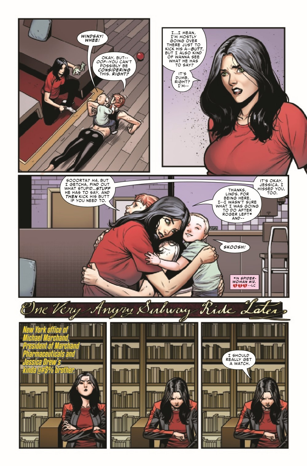 SWOMAN2020014_Preview-5 ComicList Previews: SPIDER-WOMAN #14