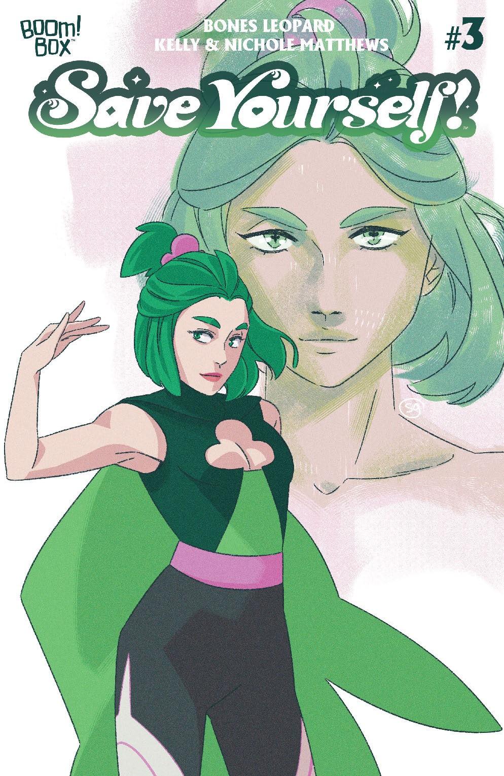 SaveYourself_003_Cover_B_MagicalGirl ComicList Previews: SAVE YOURSELF #3 (OF 4)