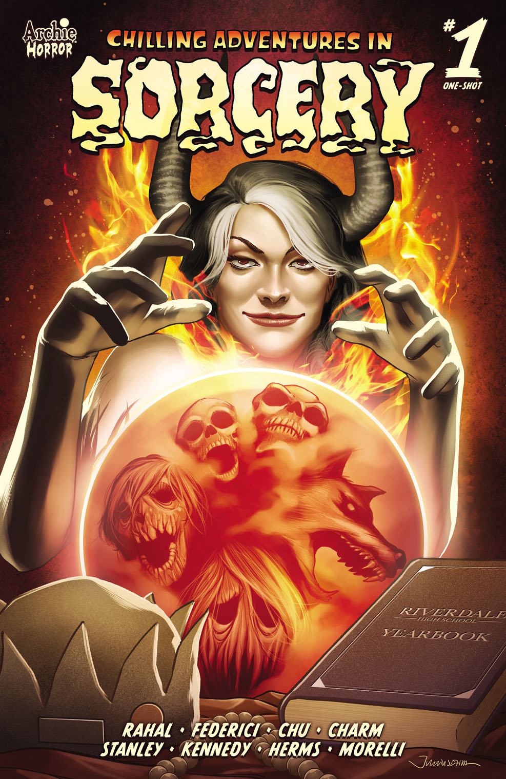 Sorcery1MainCover-Ohta Archie Comic Publications November 2021 Solicitations