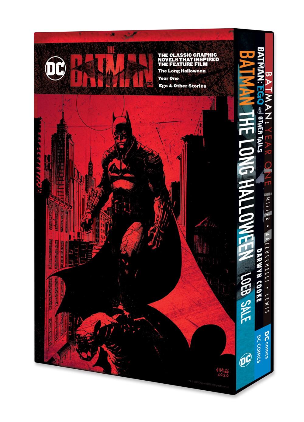 THEBATMANBOXSET DC Comics November 2021 Solicitations