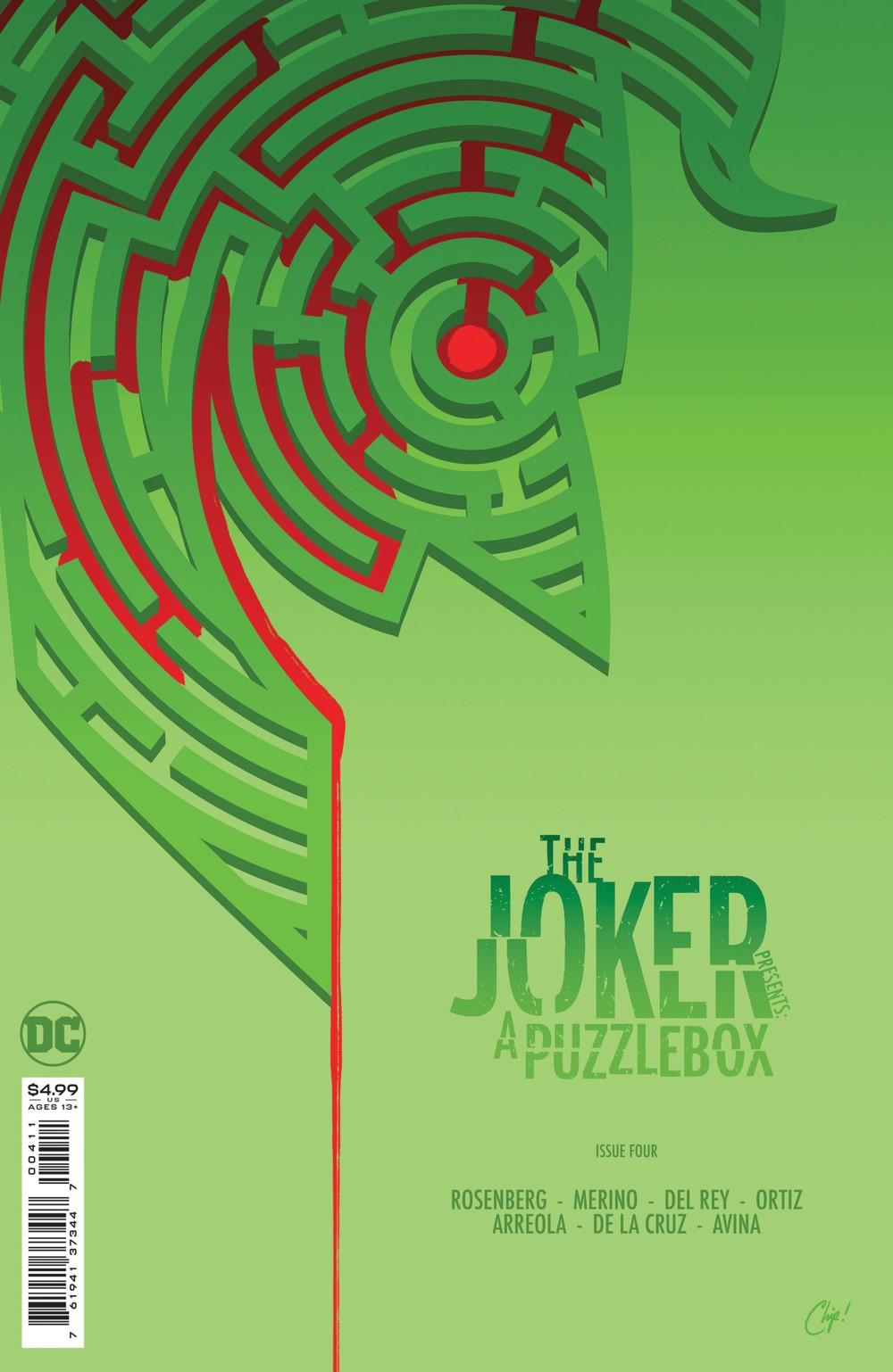 The-Joker-Presents_a_Puzzlebox_Cv4 DC Comics November 2021 Solicitations
