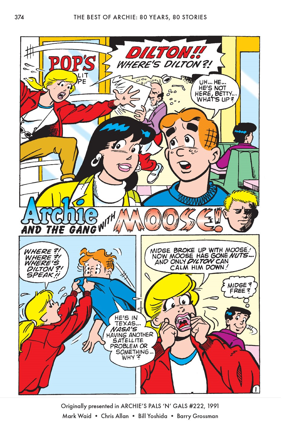TheBestOfArchieComics_80Years80Stories_376 ComicList Previews: THE BEST OF ARCHIE COMICS EIGHTY YEARS EIGHTY STORIES TP