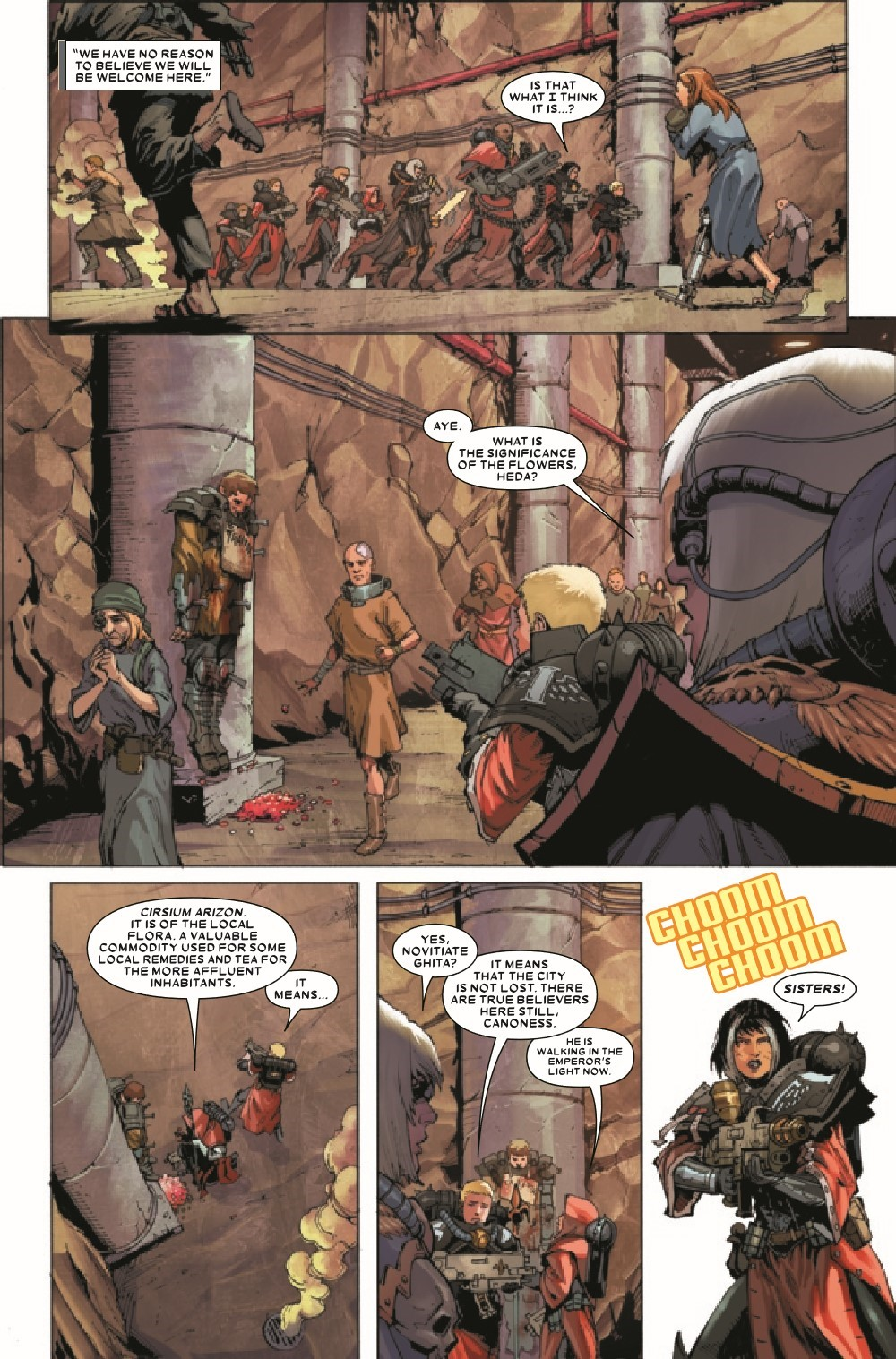 WARHAMMERSOB2021001_Preview-4 ComicList Previews: WARHAMMER 40000 SISTERS OF BATTLE #1 (OF 5)