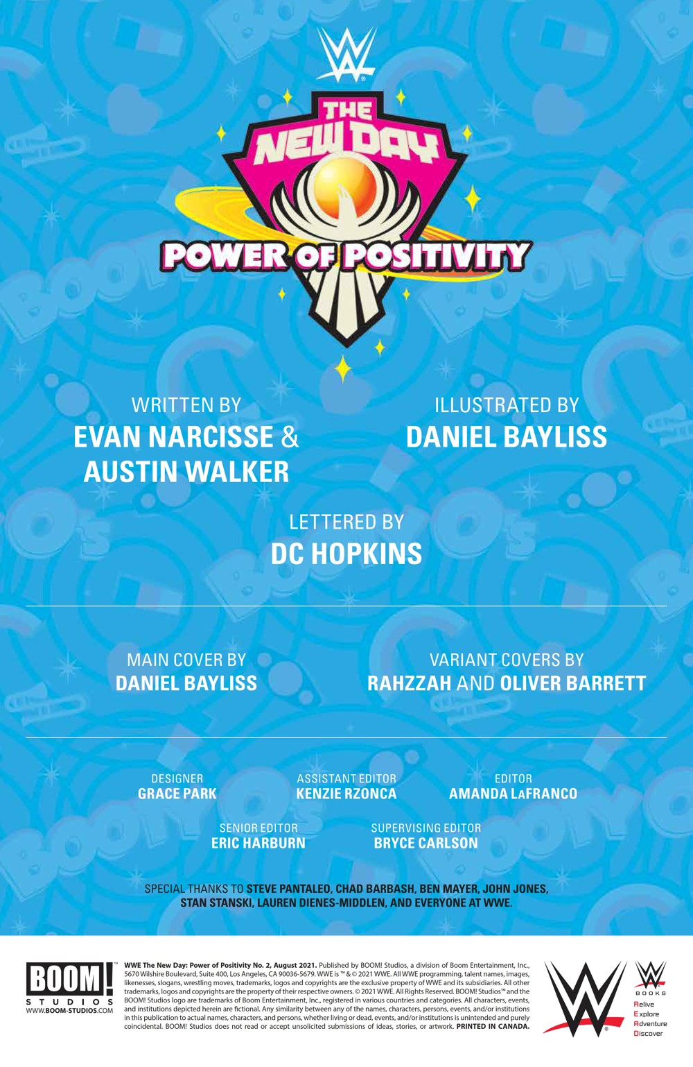 WWE_NewDay_002_PRESS_2 ComicList Previews: WWE THE NEW DAY POWER OF POSITIVITY #2 (OF 2)
