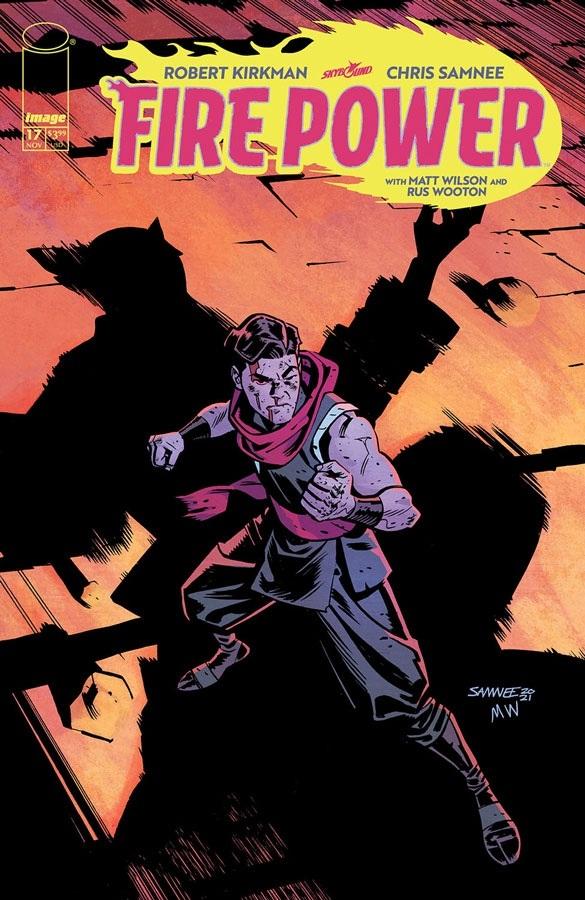 firepower_17 Image Comics November 2021 Solicitations