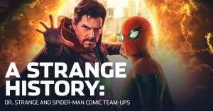 090921A-300x157 A Strange History: Dr. Strange and Spider-Man Comic Team-Ups