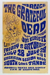 112059283_1_x-201x300 Concert Poster Auctions 9/21: Sep. Mega at PAE & Classic Poster Select Sale