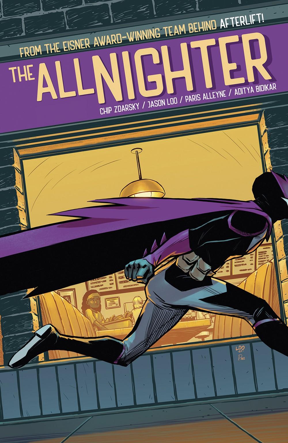 ALLNIGHTER_CVR_4x6_SOL Dark Horse Comics December 2021 Solicitations