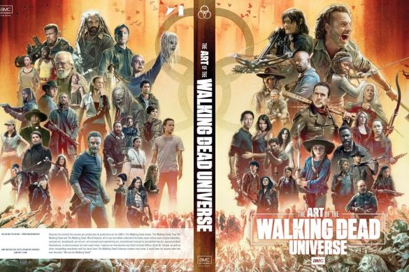 AoTWDU_coverA_FINAL_MR-1_c6815a0147f8285e3b5042ebb3626151 First Look at THE ART OF AMC'S THE WALKING DEAD UNIVERSE from Image Comics