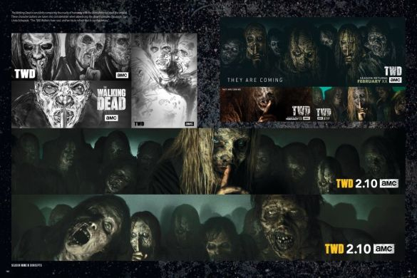 AoTWD_interiors_180-181_c6815a0147f8285e3b5042ebb3626151 First Look at THE ART OF AMC'S THE WALKING DEAD UNIVERSE from Image Comics