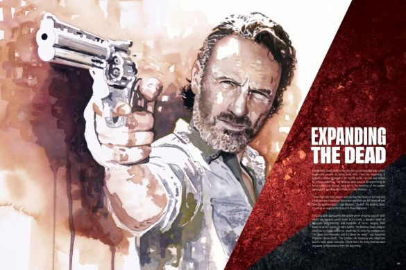 AoTWD_interiors_208-209_c6815a0147f8285e3b5042ebb3626151 First Look at THE ART OF AMC'S THE WALKING DEAD UNIVERSE from Image Comics