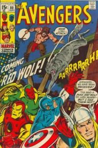 Avengers-80-introduces-Red-Wolf-198x300 John Buscema Original Art: Beyond Barbarians