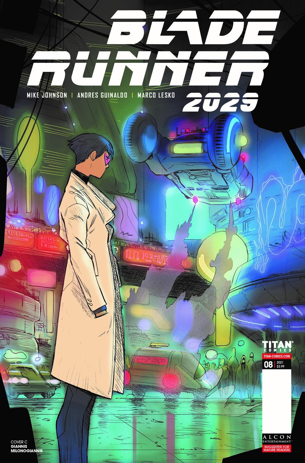 BLADE-RUNNER-2029-8-CVR-C-MILONOGIANNIS-MR ComicList Previews: BLADE RUNNER 2029 #8