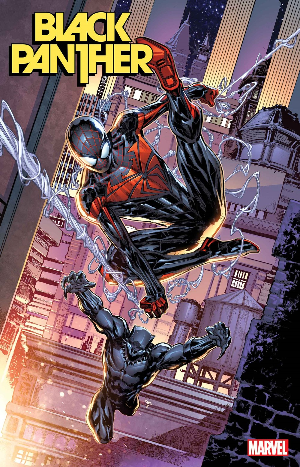 BLAP2021002_Miles_10th_var Marvel Comics December 2021 Solicitations