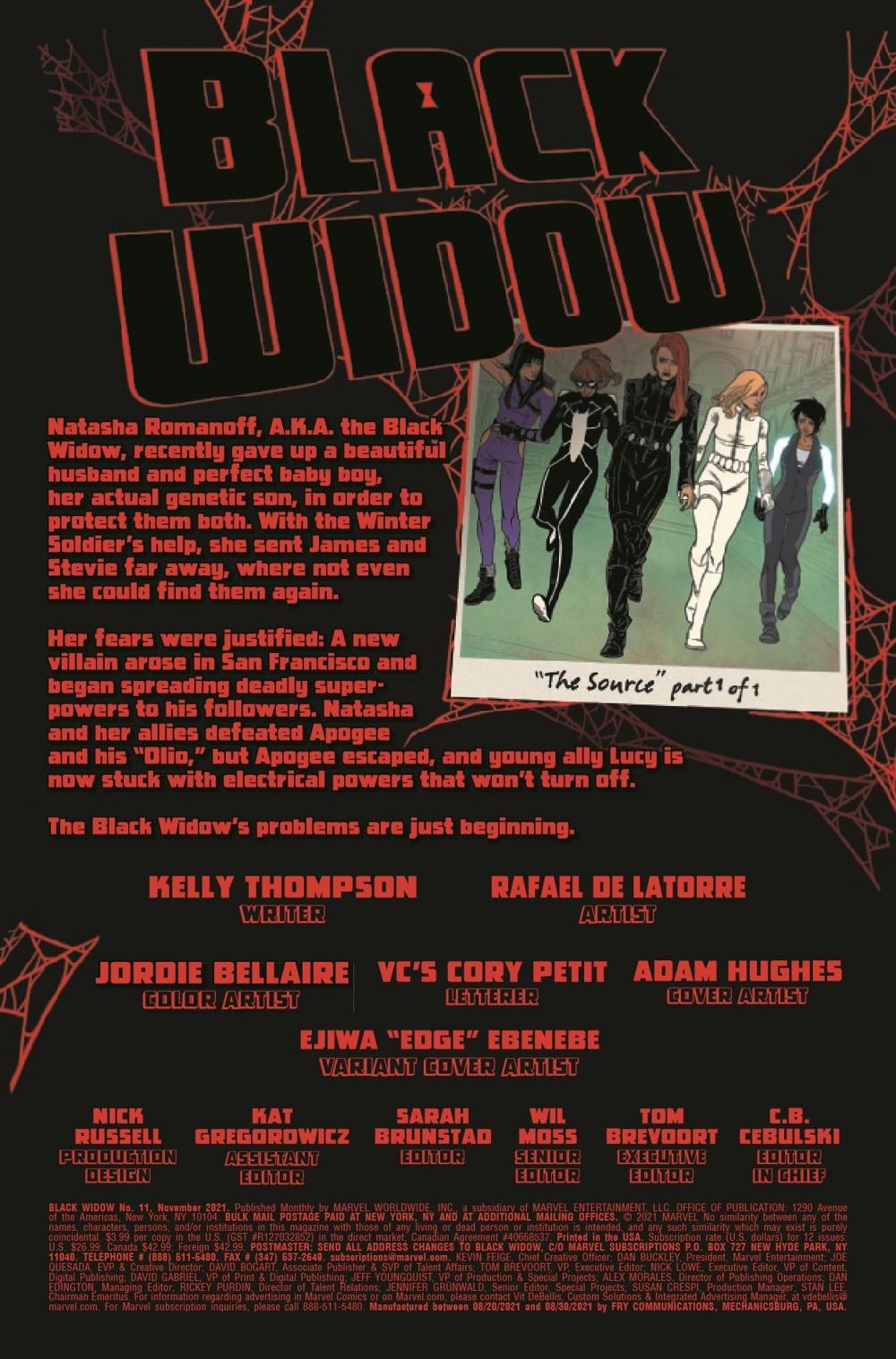 BLAW2020011_Preview-2 ComicList Previews: BLACK WIDOW #11