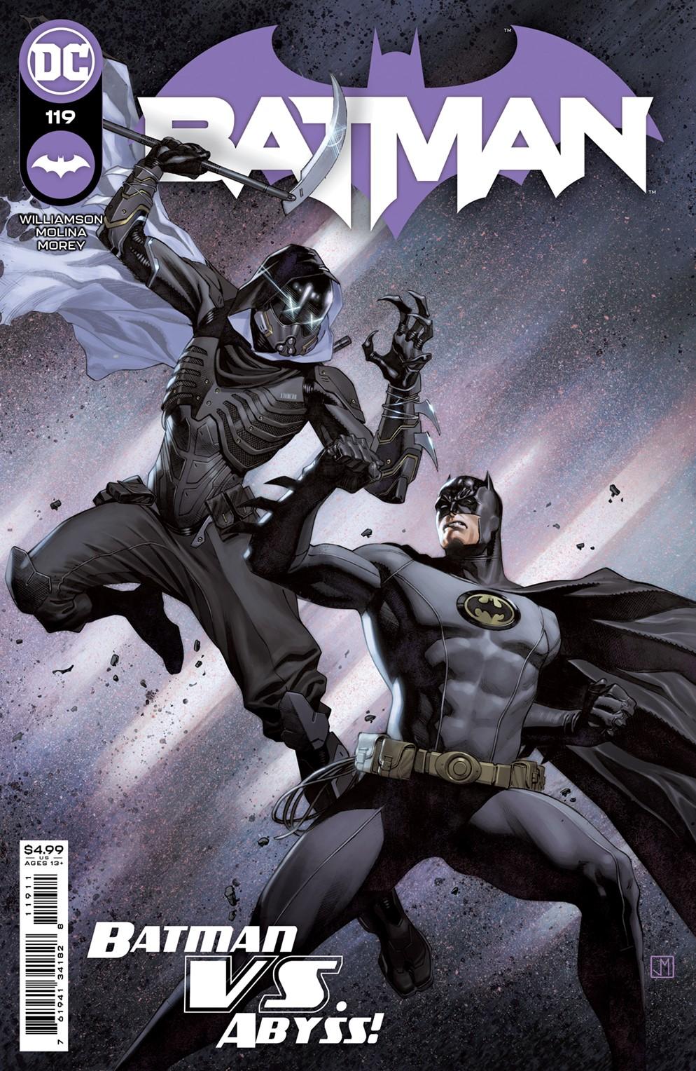 BM_Cv119 DC Comics December 2021 Solicitations