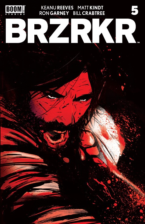 BRZRKR_005_Cover_A_Main-1 ComicList: BOOM! Studios New Releases for 09/29/2021