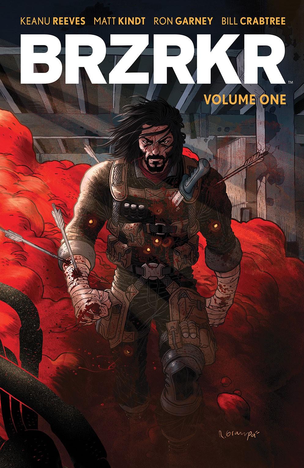 BRZRKR_v1_SC_Cover ComicList Previews: BRZRKR VOLUME 1 TP
