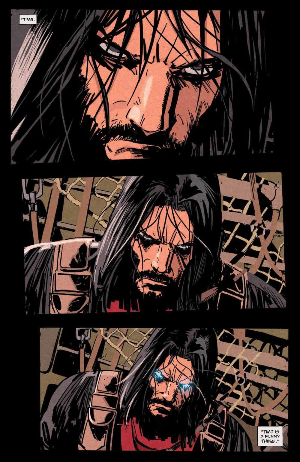 BRZRKR_v1_SC_PRESS_11 ComicList Previews: BRZRKR VOLUME 1 TP