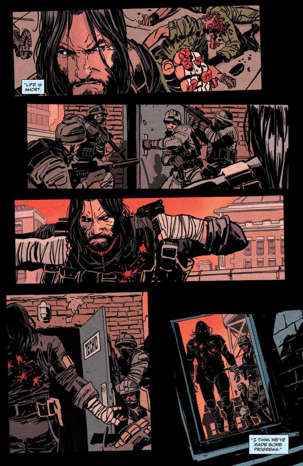 BRZRKR_v1_SC_PRESS_16 ComicList Previews: BRZRKR VOLUME 1 TP