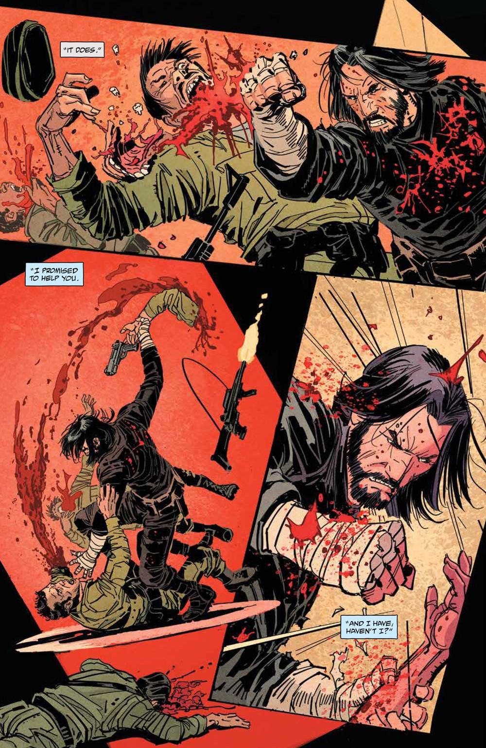 BRZRKR_v1_SC_PRESS_21 ComicList Previews: BRZRKR VOLUME 1 TP