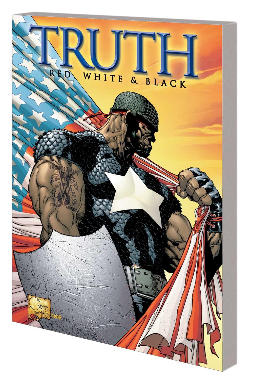 CAPT_AM_TRUTH_TPB_QUESADA Marvel Comics December 2021 Solicitations
