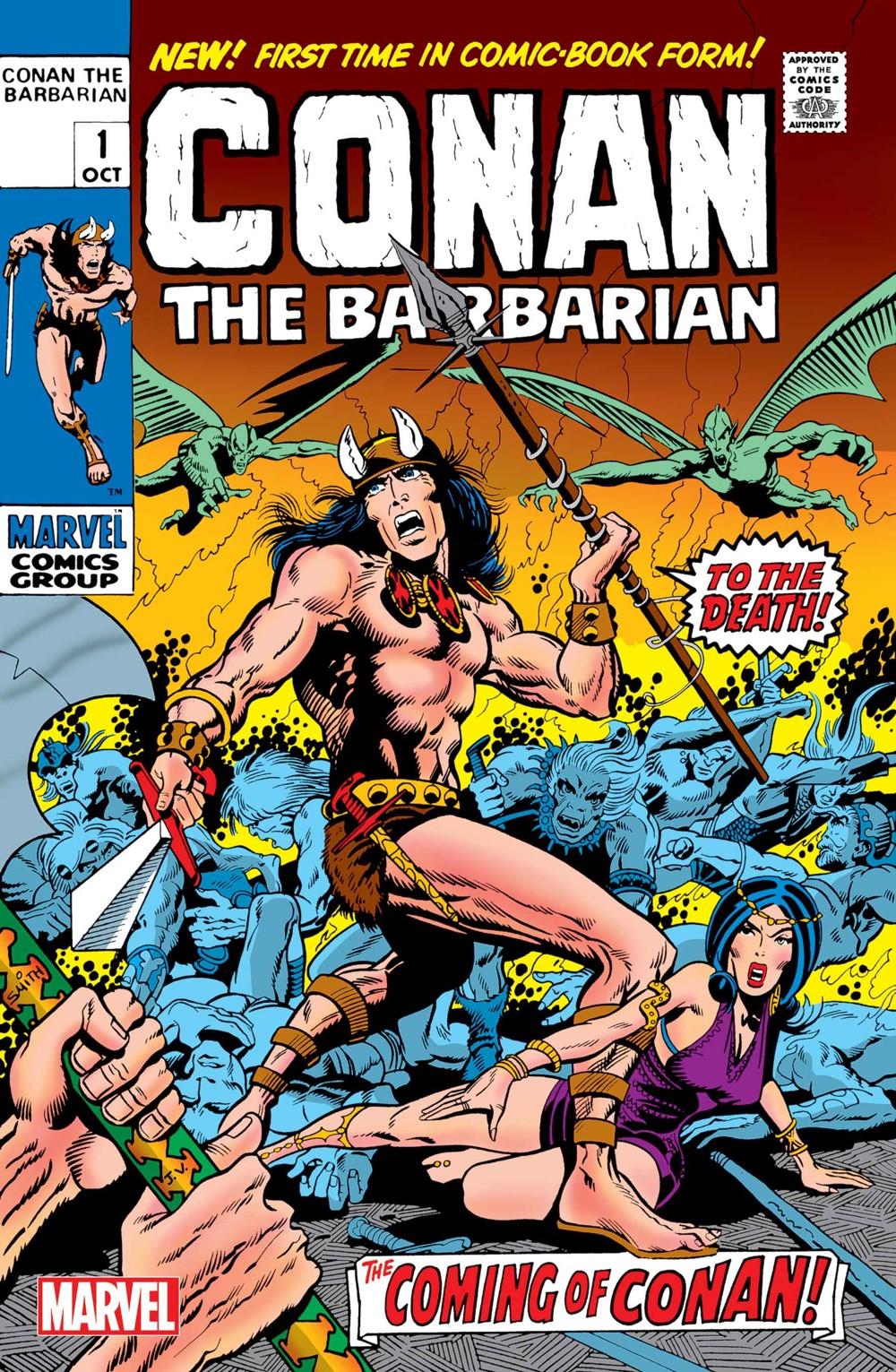 CONANBARB1970001_FACSIMILE Marvel Comics December 2021 Solicitations