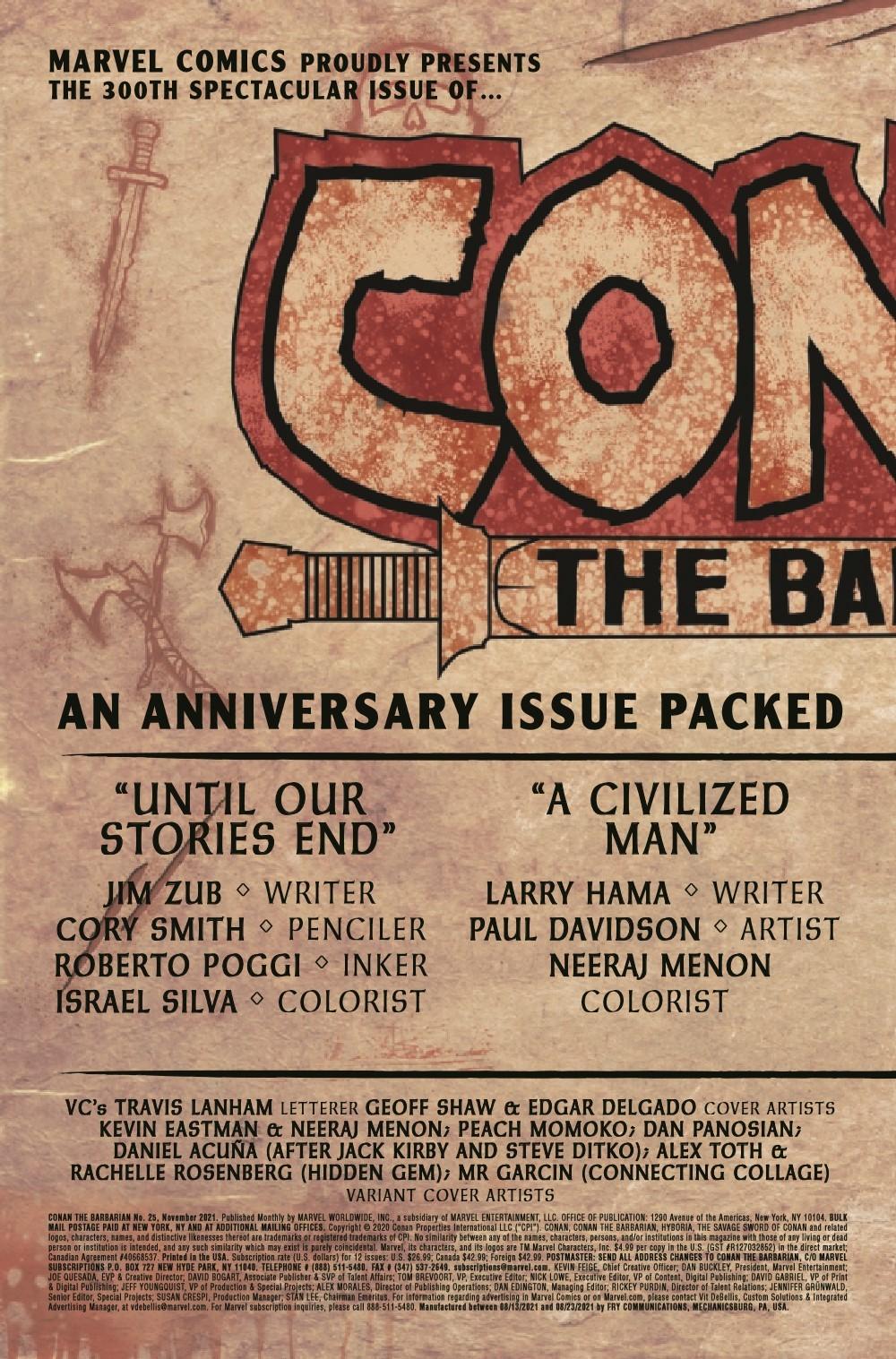 CONANBARB2019025_Preview-2 ComicList Previews: CONAN THE BARBARIAN #25
