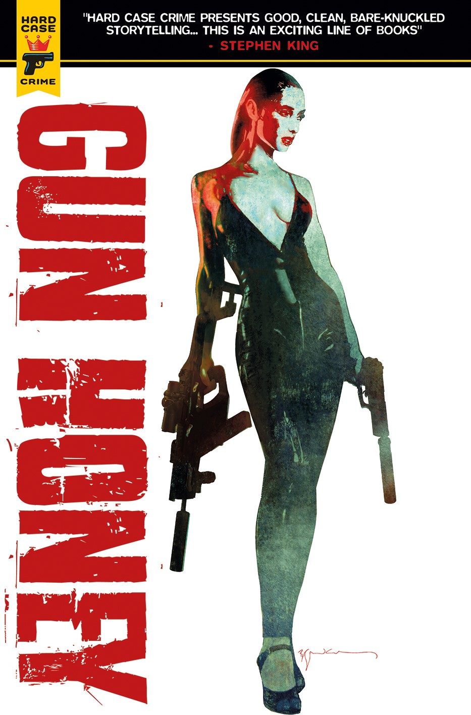 Cover-A ComicList Previews: GUN HONEY #1