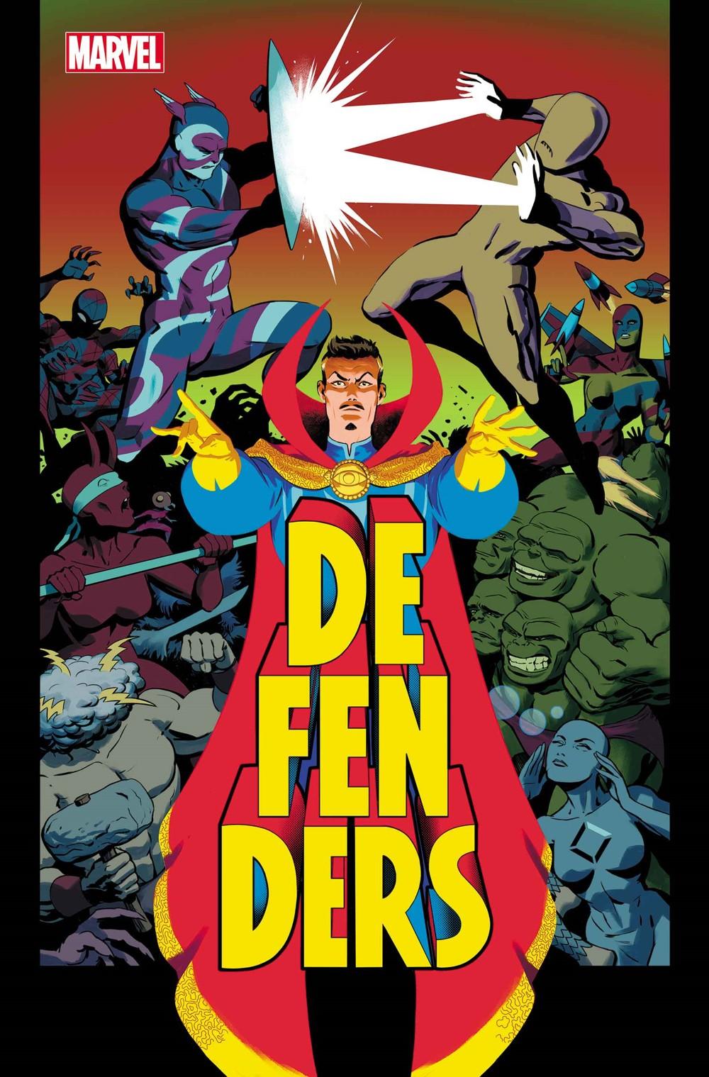 DEFEND2021004_Cov Marvel Comics December 2021 Solicitations