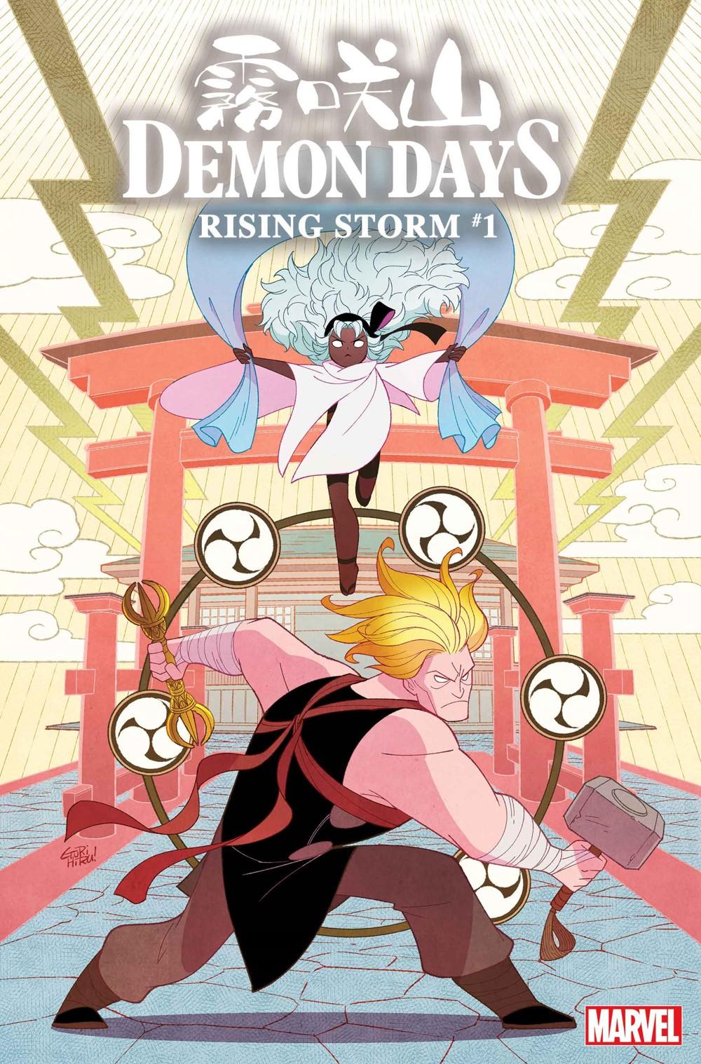 DEMONDAYSRISING001_Gurihiru_var Marvel Comics December 2021 Solicitations