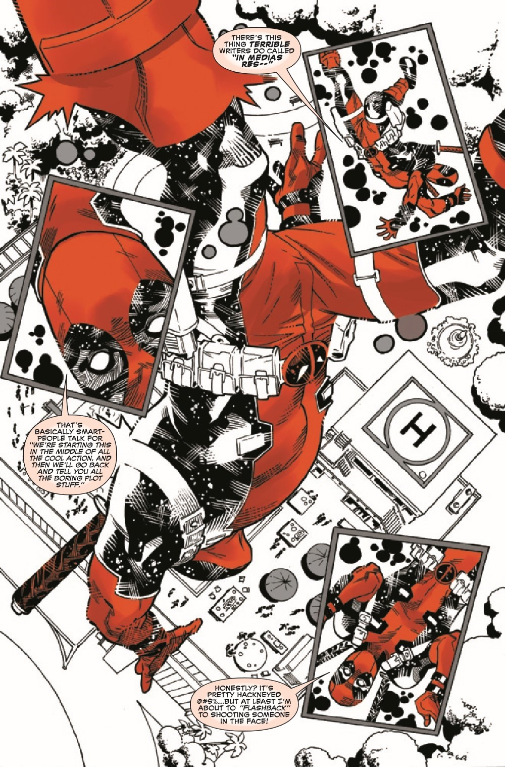 DPOOLBLKWHBL2021002_Preview-4 ComicList Previews: DEADPOOL BLACK WHITE AND BLOOD #2 (OF 4)