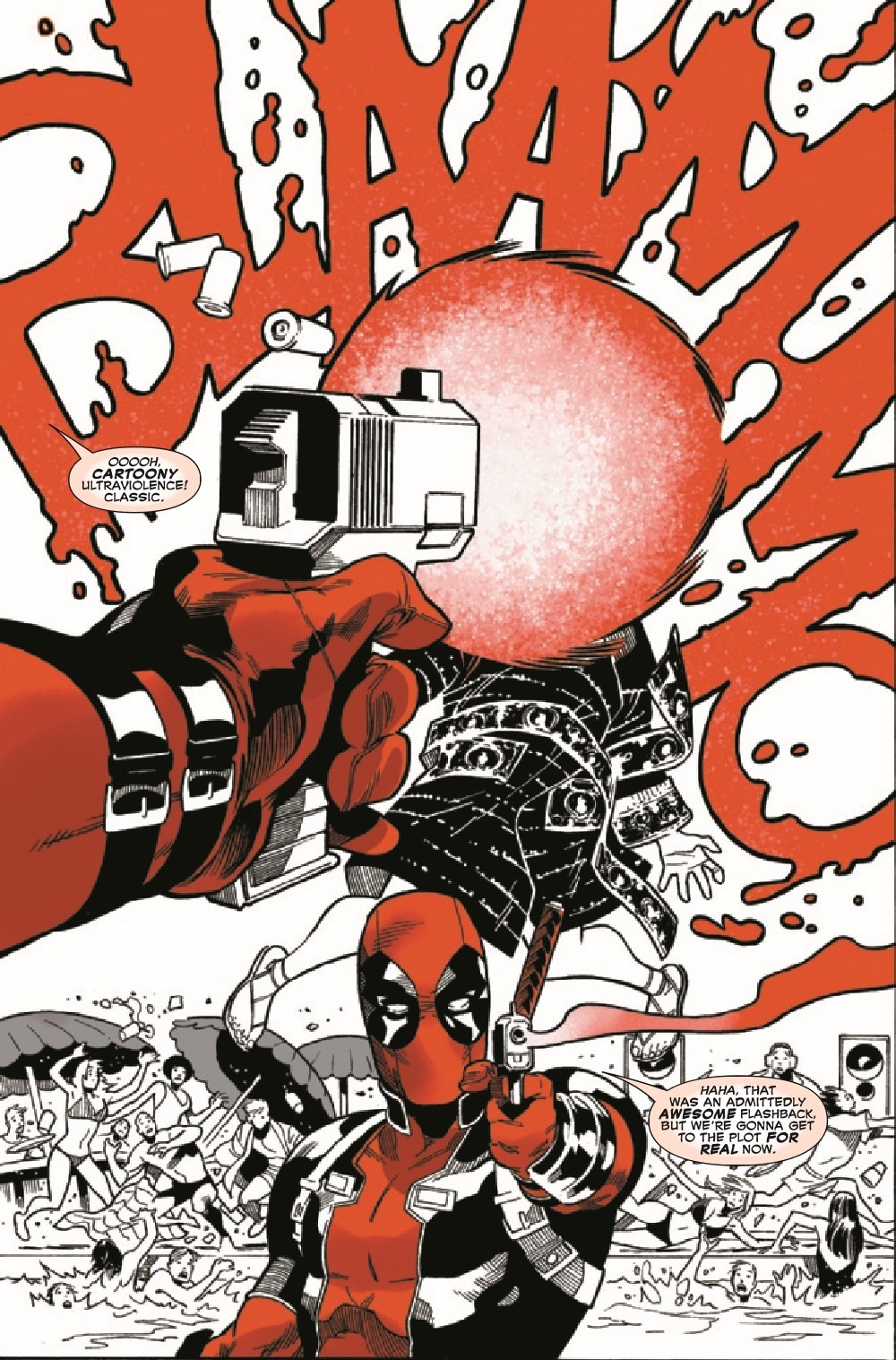 DPOOLBLKWHBL2021002_Preview-5 ComicList Previews: DEADPOOL BLACK WHITE AND BLOOD #2 (OF 4)