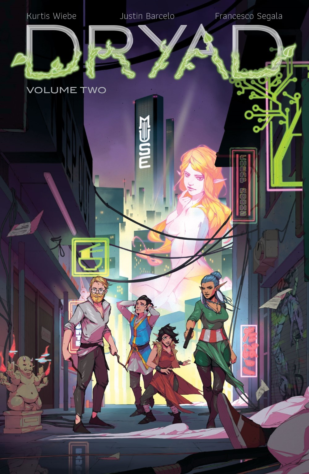DRYAD-V2-TPB-REFERENCE-001 ComicList Previews: DRYAD VOLUME 2 TP