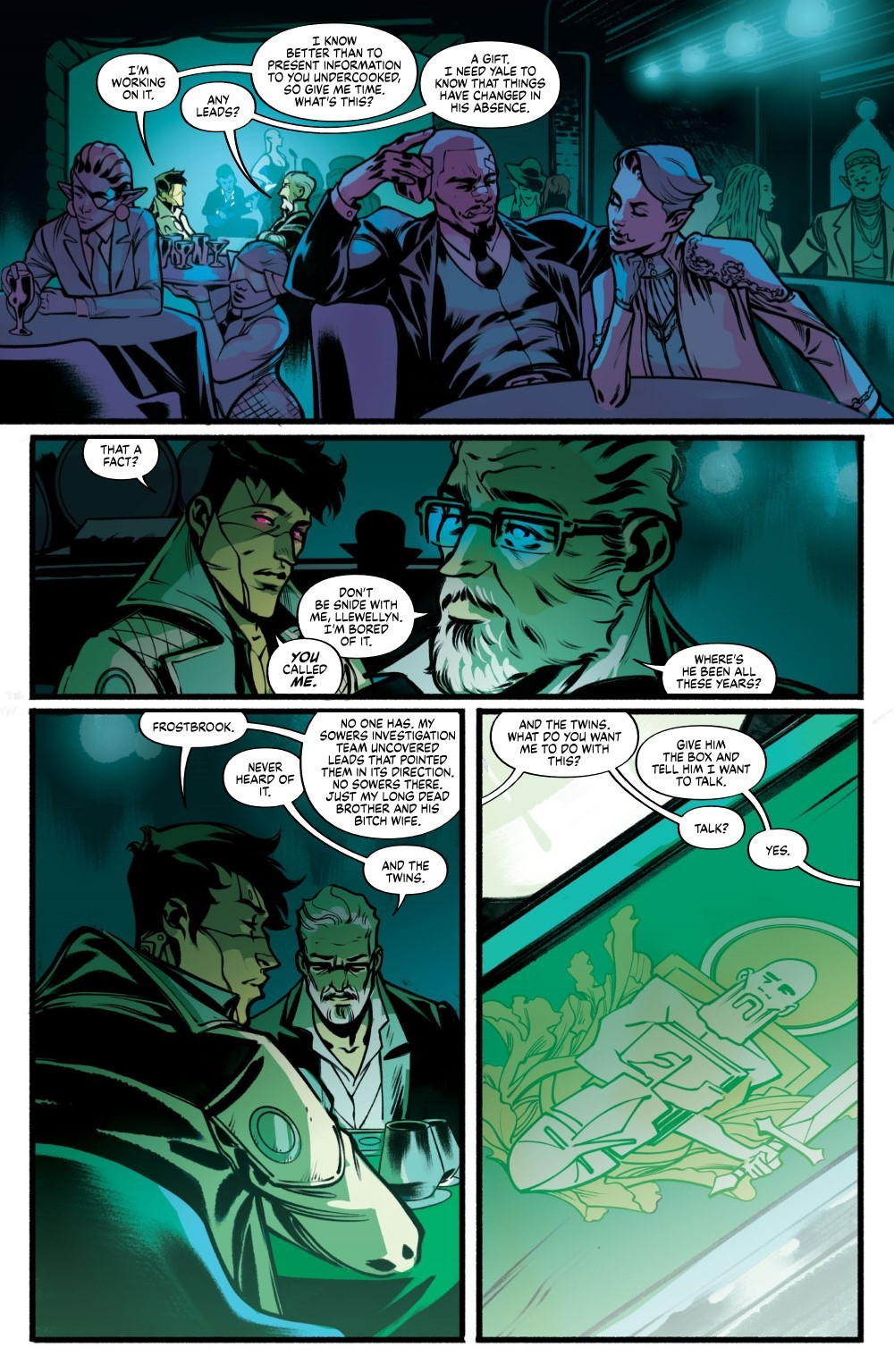 DRYAD-V2-TPB-REFERENCE-011 ComicList Previews: DRYAD VOLUME 2 TP