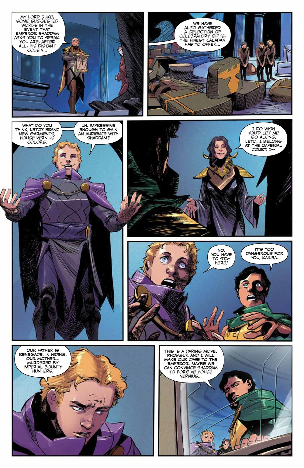 Dune_HouseAtreides_010_PRESS_4 ComicList Previews: DUNE HOUSE ATREIDES #10 (OF 12)