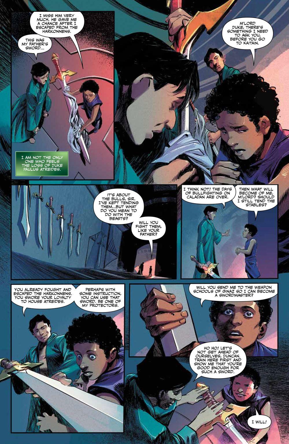 Dune_HouseAtreides_010_PRESS_6 ComicList Previews: DUNE HOUSE ATREIDES #10 (OF 12)