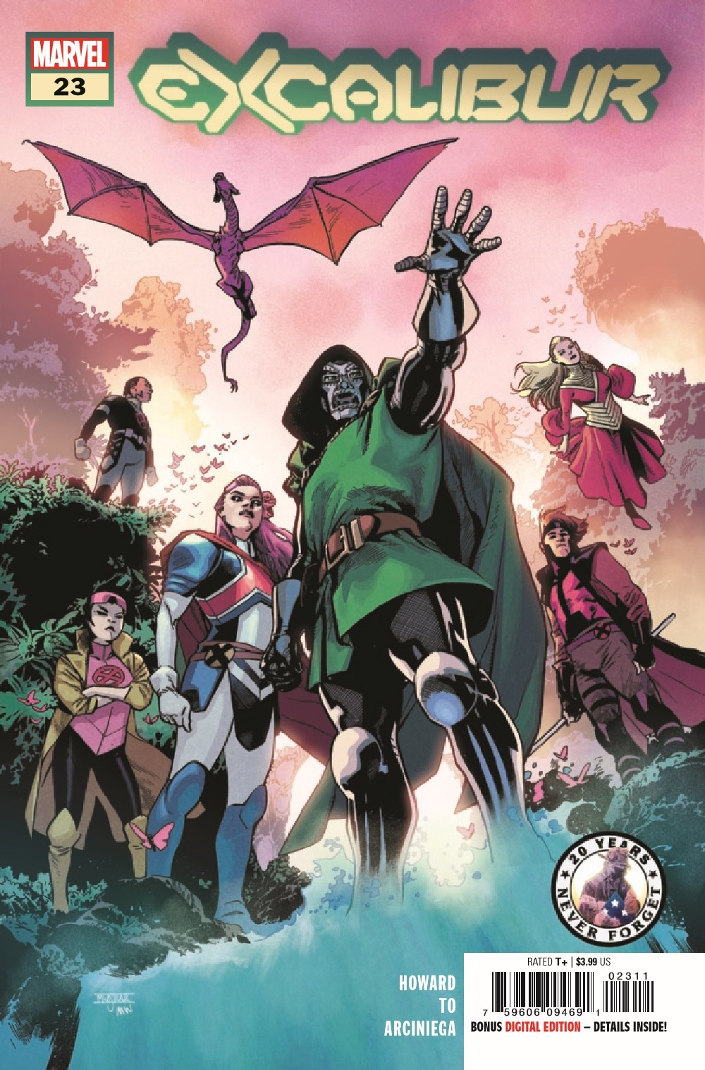 EXCAL2019023_Preview-1 ComicList Previews: EXCALIBUR #23