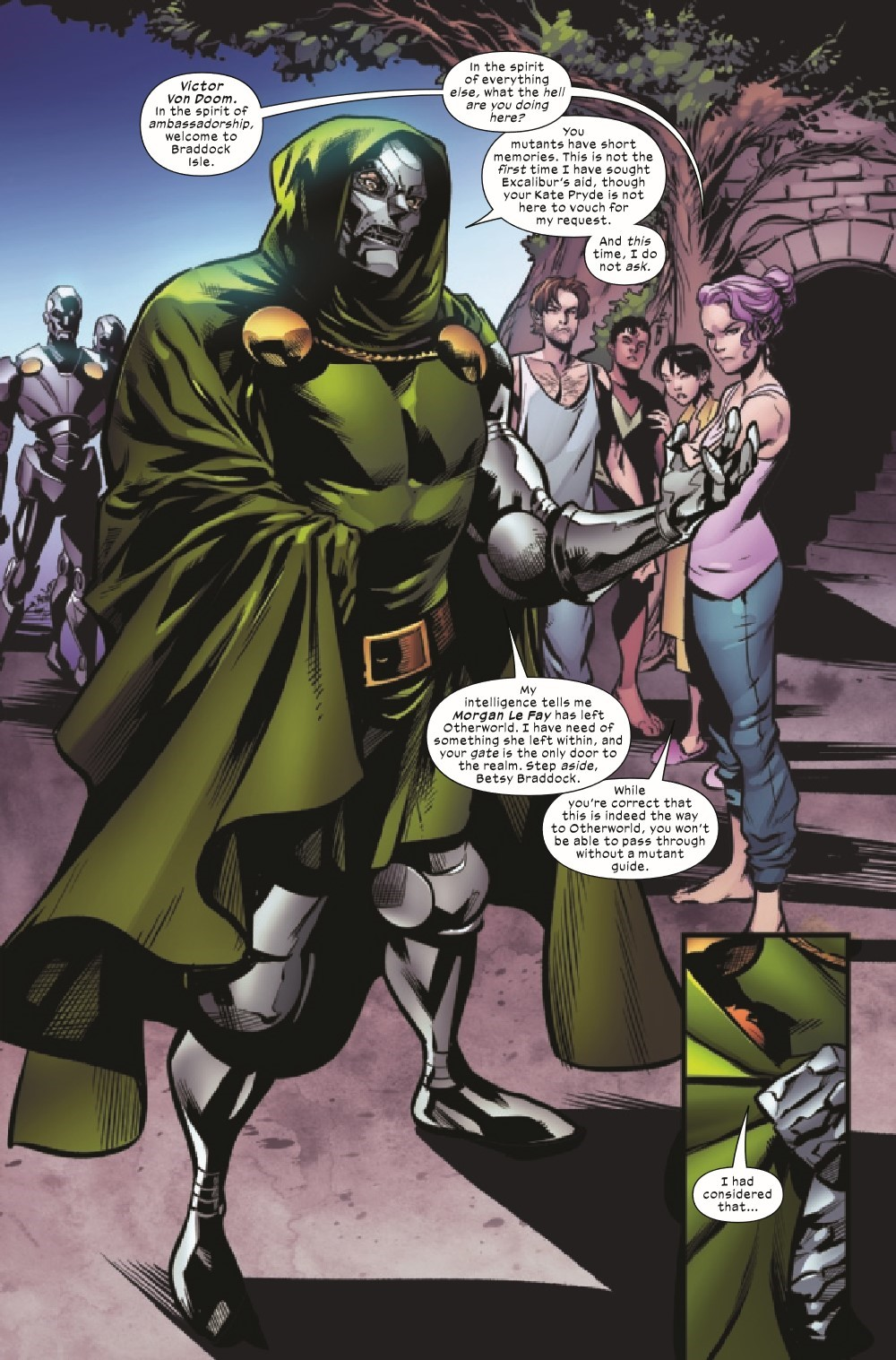 EXCAL2019023_Preview-3 ComicList Previews: EXCALIBUR #23