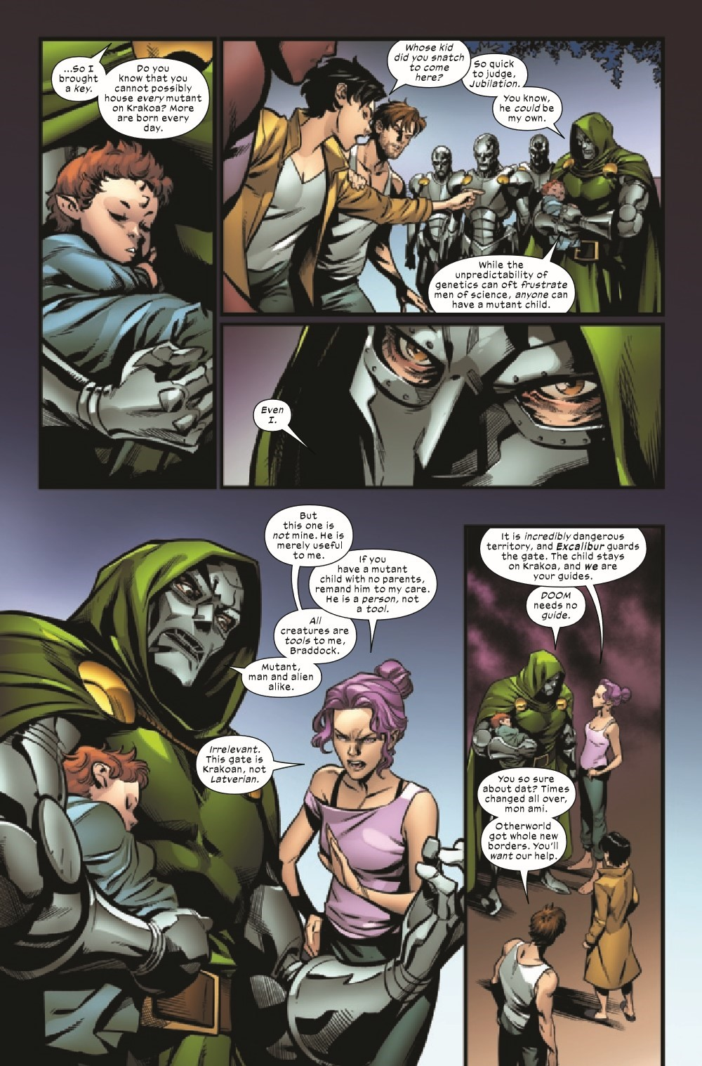 EXCAL2019023_Preview-4 ComicList Previews: EXCALIBUR #23