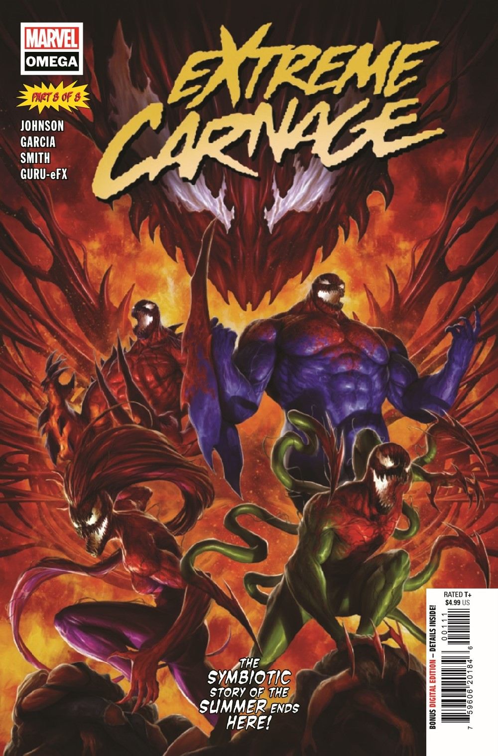 EXTCARNO2021001_Preview-1 ComicList Previews: EXTREME CARNAGE OMEGA #1