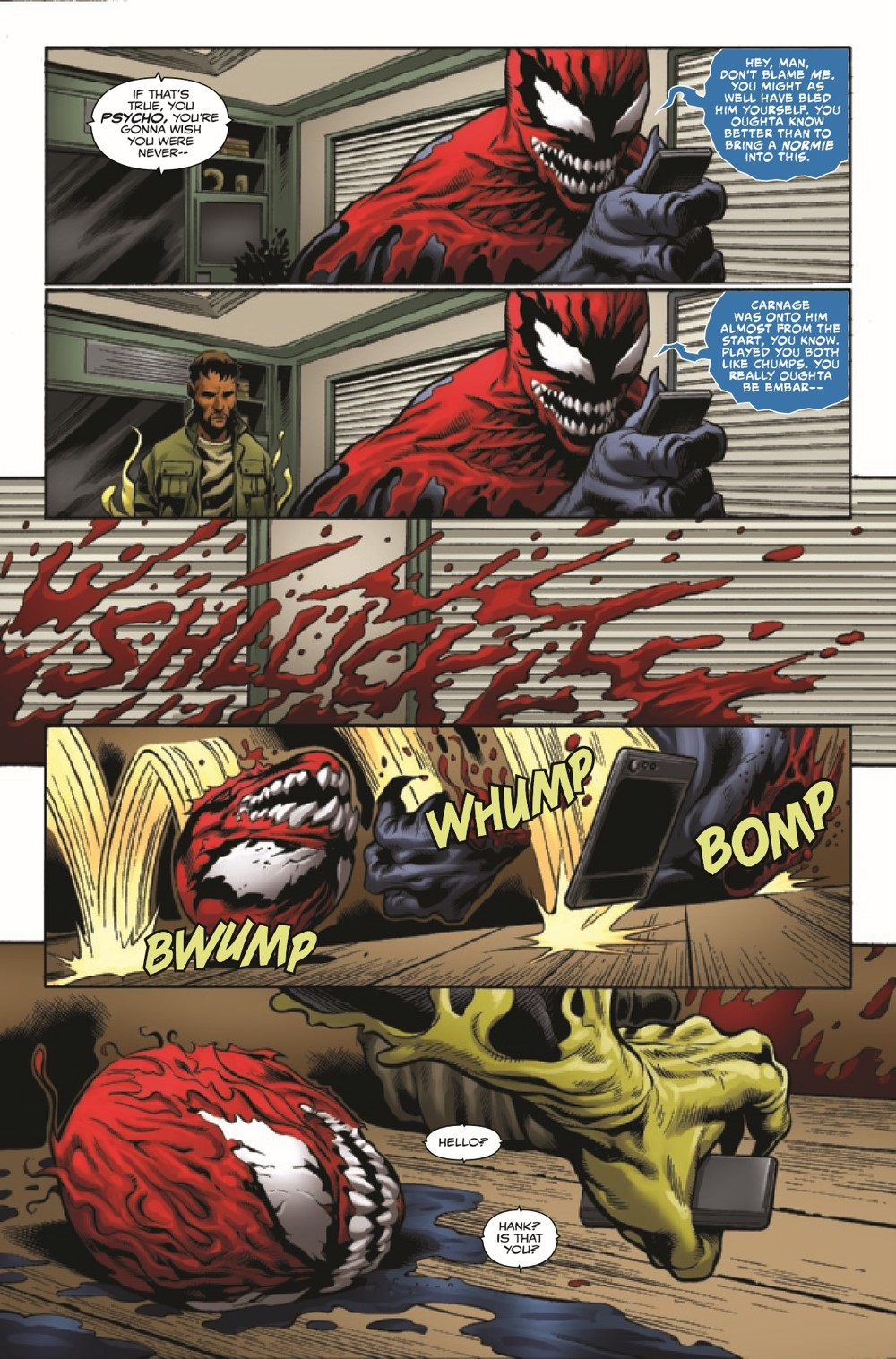 EXTCARNO2021001_Preview-5 ComicList Previews: EXTREME CARNAGE OMEGA #1