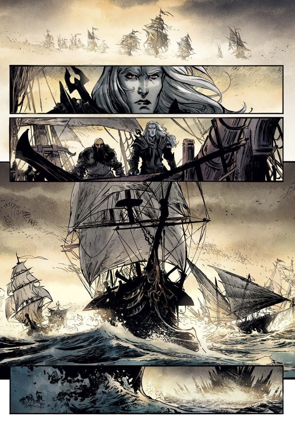 Elric-The-Deaming-City-2-Spread-1 ComicList Previews: ELRIC THE DREAMING CITY #2