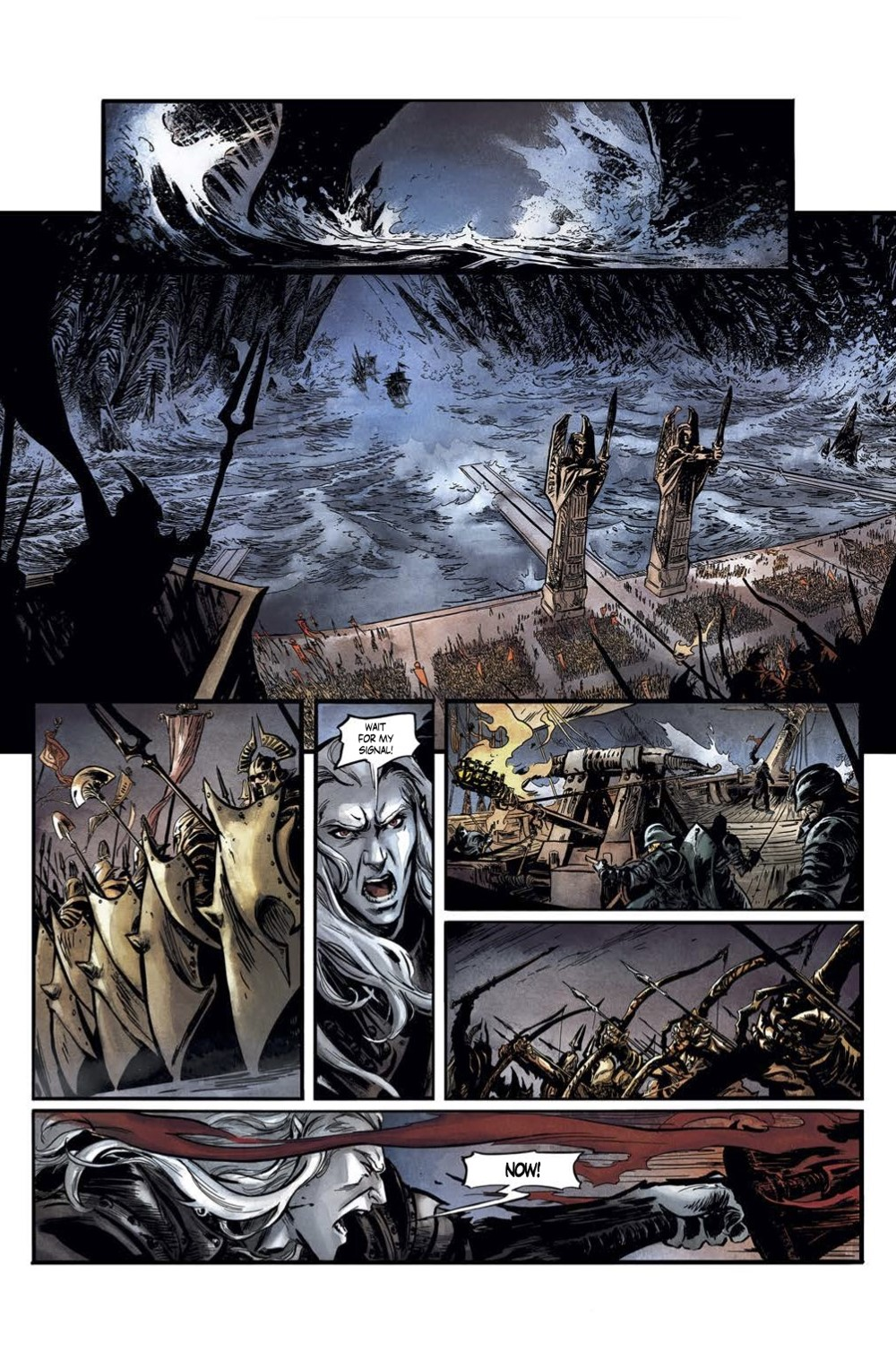 Elric-The-Deaming-City-2-Spread-3 ComicList Previews: ELRIC THE DREAMING CITY #2