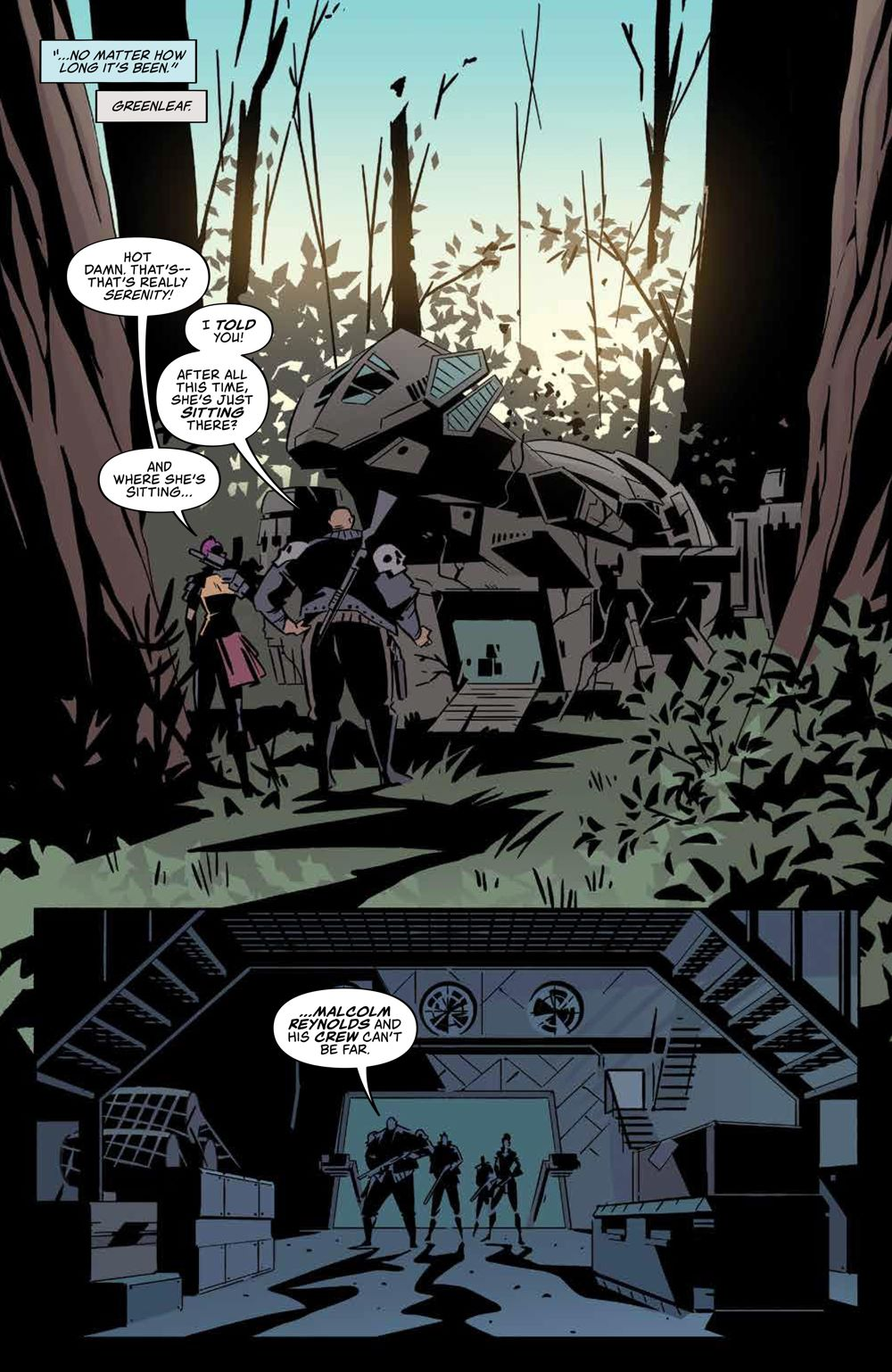 Firefly_ReturnToEarth_v1_HC_PRESS_12 ComicList Previews: FIREFLY RETURN TO THE EARTH THAT WAS VOLUME 1 HC