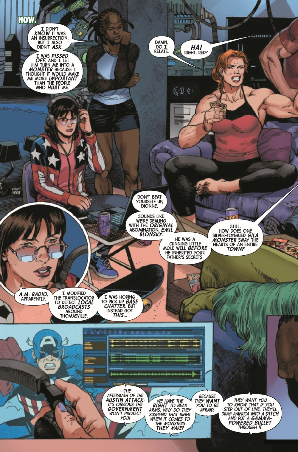 GAMMAF2021004_Preview-6 ComicList Previews: GAMMA FLIGHT #4 (OF 5)