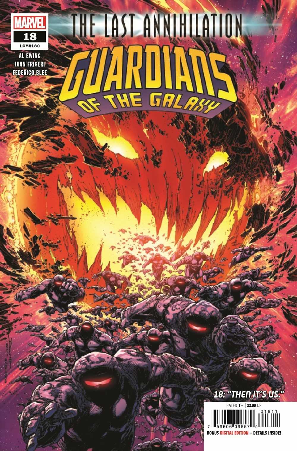 GARGAL2020018_Preview-1 ComicList Previews: GUARDIANS OF THE GALAXY #18