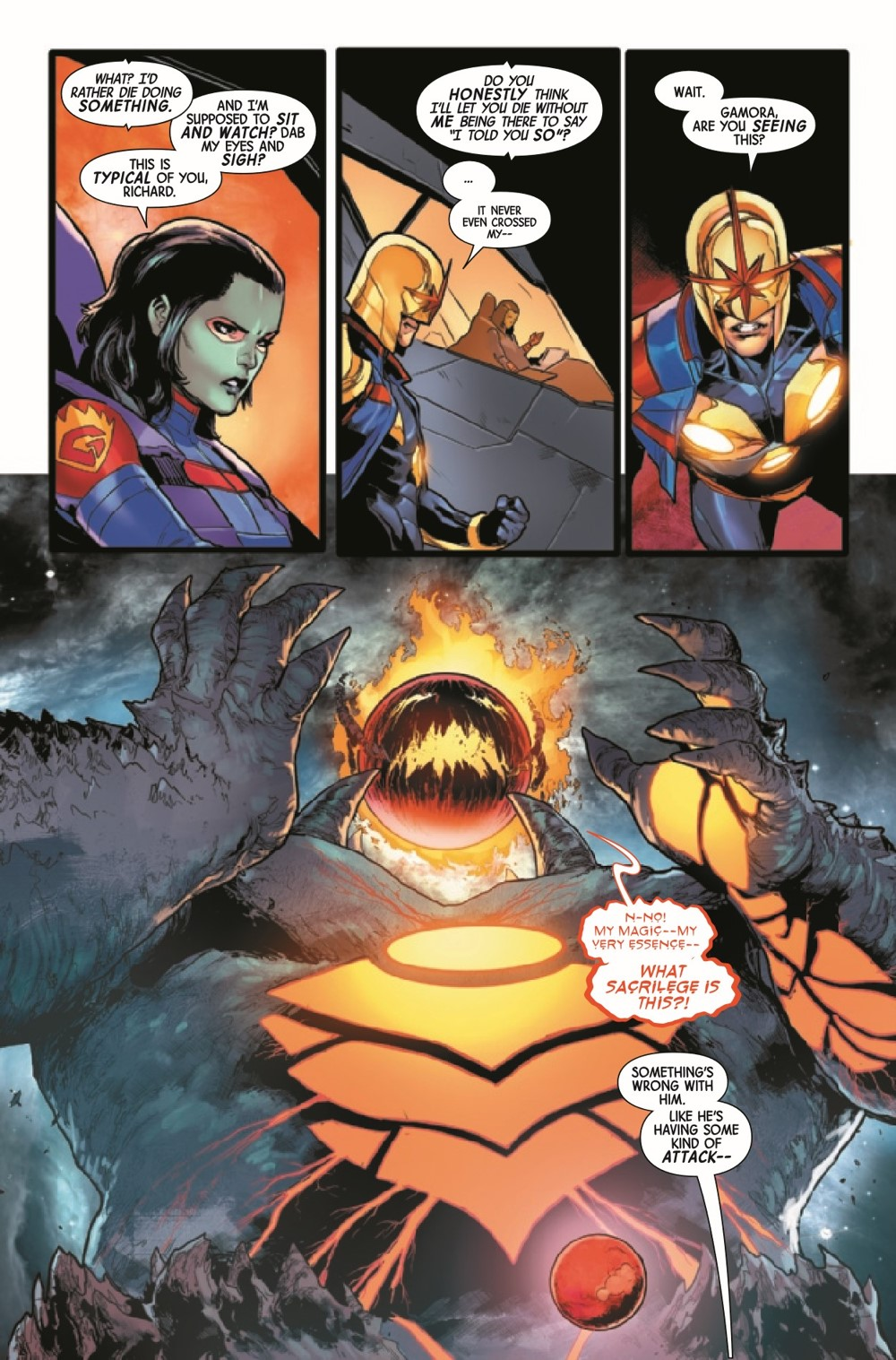 GARGAL2020018_Preview-4 ComicList Previews: GUARDIANS OF THE GALAXY #18