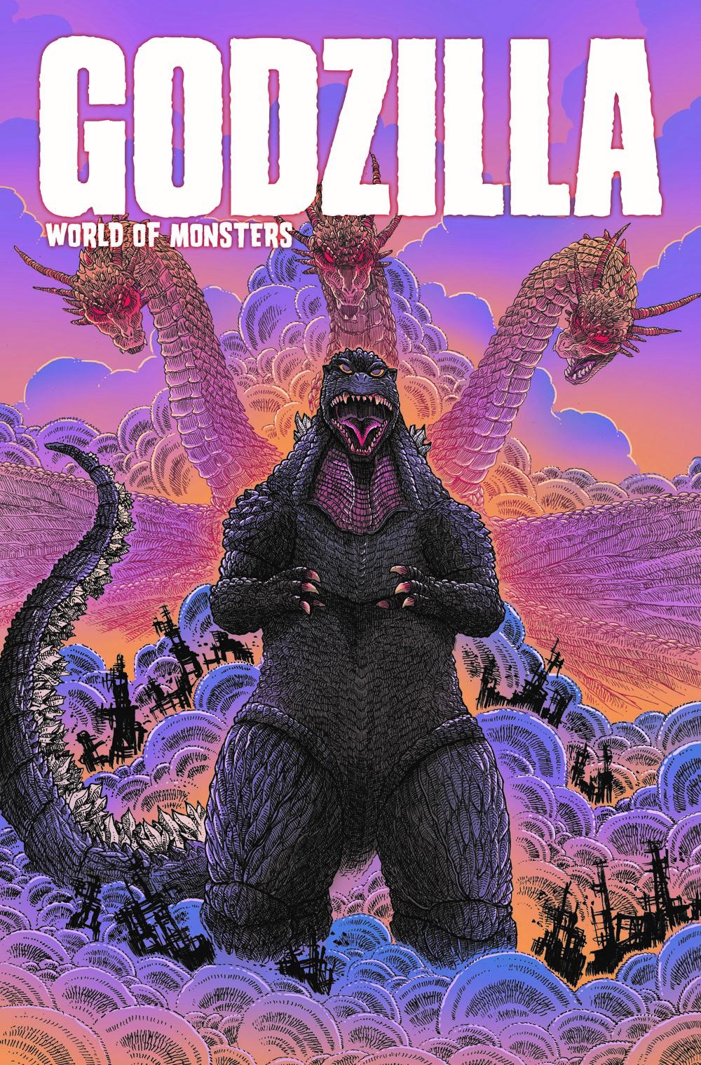 Godzilla-WoM_cvr ComicList Previews: GODZILLA WORLD OF MONSTERS TP