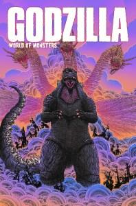 Godzilla-WoM_cvr-198x300 ComicList Previews: GODZILLA WORLD OF MONSTERS TP